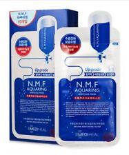 Mediheal - N.M.F. Aquaring Ampoule Korean Face Sheet Mask, Pack of 10