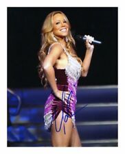MARIAH CAREY SIGNED AUTOGRAPHED A4 PP PHOTO POSTER 1