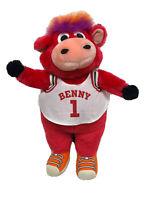 "Vintage 15"" Chicago Bulls 90s Benny Bull Plush NBA Basketball Mascot Stuffed"