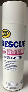ZEP Rescue Professional Grade Carpet Spotter and Upholstery stain remover 18 oz