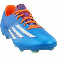 adidas F10 TRX Firm Ground  Casual Soccer  Cleats Blue Mens - Size 12 M