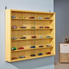 Interlink Furniture Wooden Display Cabinet Aquario Storage Glass Doors Natural