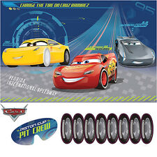 CARS PARTY SUPPLIES PARTY GAME FOR 2 - 8 PLAYERS