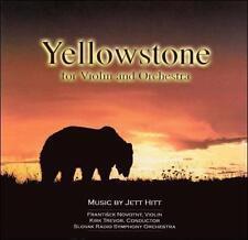 Jett Hitt: Yellowstone for Violin and Orchestra (CD, Mar-2007, Yellowstone...
