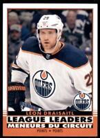 2020-21 UD O-Pee-Chee Retro League Leaders #584 Leon Draisaitl - Edmonton Oilers