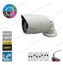 TVI/CVI/AHD and analog 2.8mm Lens BNC Waterproof 18IR Bullet Camera 12VDC