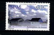 """ST. PIERRE E MIQUELON - 2005 - """"L'atmosfera di bruma"""" - Case nella nebbia"""
