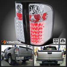 2007-2014 Chevy Silverado 1500 2500HD 3500HD Pickup LED Tail Brake Lights Lamps