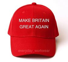 Donald Trump Brexit Make Britain Great Again Baseball Cap Hat America eb328eae79a2