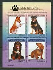 GUINEA 2019  DOGS  SHEET MINT NEVER HINGED