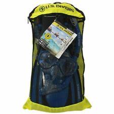 U.S. Divers Adult Snorkel Set Size L/XL Mask, Snorkel, Kaui Fins