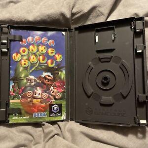 Nintendo GameCube Super Monkey Ball Case Only - NO GAME