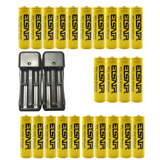 2800mAh Rechargeable 14500 Battery 3.7V Li-ion Batteries Cell With Smart Charger