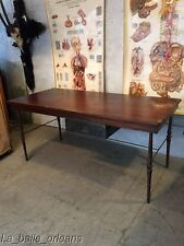 CUSTOM MADE SALVAGED WORK TABLE / DESK . ARCHITECTURAL DESIGN. L@@k!!