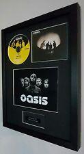 Oasis-Lyla-Framed Original CD-Limited Edition-Metal Plaque-Certificate