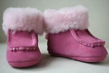 UGG AUSTRALIA BABY PINK BOO BOOTS EU 18 UK 2 US 2/3