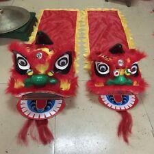 Lion Mascot Hot Chinese Folk Art Southern Lion Dance Wool Costume Kids Dress Toy