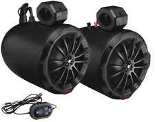 "Boss Audio 850 Watt 2-Way Amplified Bluetooth Marine 8"" Speakers Can Am Maverick"