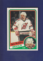 Gary MacAdam 1984-85 O-PEE-CHEE OPC Hockey #117 (NM+) New Jersey Devils