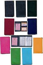 Pochette Etui Protection cuir Porte Carte Grise - papiers voiture, permis