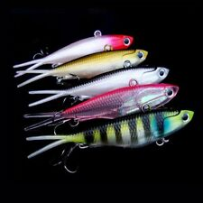 5pcs Soft Plastic Vibe Transam Fishing Lures Tackle 95mm 20g Barra Snapper Lure