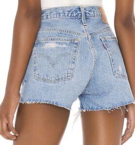 Levi's 501 High Rise Shorts W23 BNWT Style 56327-0184