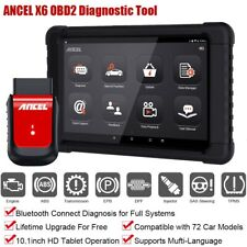 Full System OBD2 Auto Tablet Diagnostic Tool Wifi ABS SRS EPB DPF Oil Reset Scan