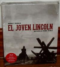EL JOVEN LINCOLN EDICION COLECCIONISTA LIMITADA 1 BLU-RAY+2 DVD+LIBRO NUEVO R2