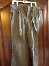 Brown Linen Pants Junior Size L (New With Tags)