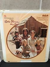 NEW Sealed CED Video SelectaVision Little House on the Prarie 1974 Pilot Movie