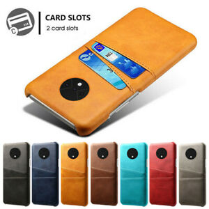 Leather Card Holder Wallet Back Phone Case Cover For One Plus 9 8 7T Pro 6 5T