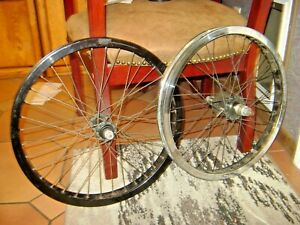 Primo 20 inch 36 Spoke BMX   cassette Wheel pair 14mm Axle