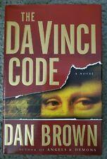 The Da Vinci Code by Dan Brown (2003, Hardcover) Like New