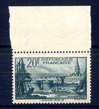 FRANCIA - 1938 - Soggetti vari - 20 fr. Saint Malo - bordo di foglio