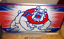 Fresno State University Bulldogs NCAA team plastic License Plate made in the USA