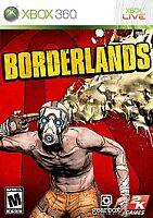 XBOX 360 Borderlands (Microsoft Xbox 360, 2009) FREE SHIPPING