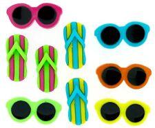Jesse James Buttons - Dress It Up - BEACHING IT 7824 ~ Flip Flops & Sunglasses