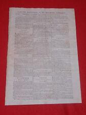 JOURNAL GAZETTE NATIONALE OU LE MONITEUR UNIVERSEL N° 326 MERC 21 NOVEMBRE 1792