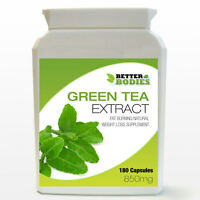 Green Tea Extract 850mg Weight Loss Diet Bottle 180 Capsules 6 Month Supply