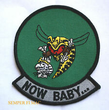 F14 TOMCAT F18 HORNET NOW BABY PATCH US MARINES NAVY USS FMF PIN MAW MCAS NAS