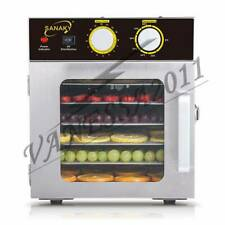 UV Light 6 Layer Food Dryer Dehydrator Stainless Steel Fruit Drying Machine