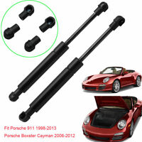 For Porsche911 1998-2013 Boxster 2006-2012 Gas Struts Hood Front Lift Support x2