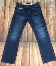 TIMBERLAND Blacksville Mens Blue Faded 5 Pockets Casual Denim Trousers Jeans 32