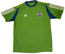 Adidas Seattle Sounders 2010 Soccer Green Clima Lite Shirt Mens L