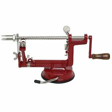 Johnny Apple Peeler TM by VICTORIO VKP1010,Suction Base Red Strong suction base.
