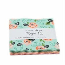 "Sugar  Pie 5"" Squares Charm Pack  Moda Fabric Quilt 100% Cotton 5040PP"