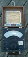 """Vintage  SENSITIVE RESEARCH INSTRUMENT CORP Model """"FRE"""" FREQUENCY METER"""