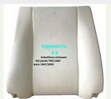 Gommapiuma schienale  fiat panda anno 1987 /2003 tutti modelli