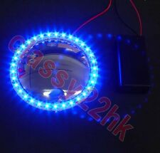 33 LED BLUE ring + 9 Voltage battery Holder w/Switch FOR LION DANCE PARTS (NEW)