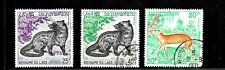 HICK GIRL- BEAUTIFUL USED LAOS STAMP    SC#219-21  1971  ISSUES     E1030